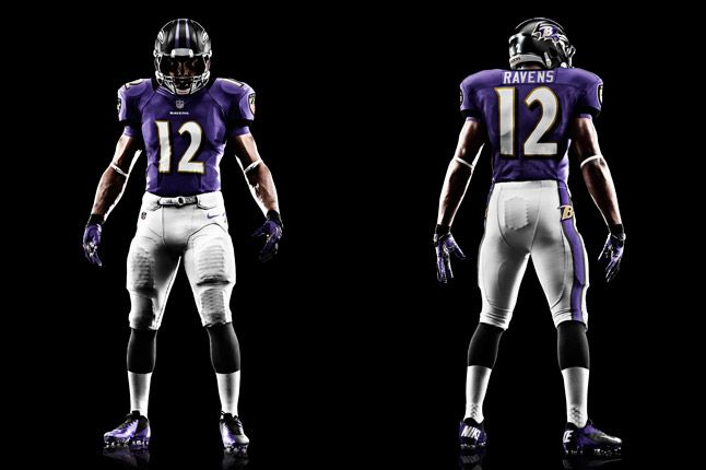 Baltimore Ravens Uniform 1