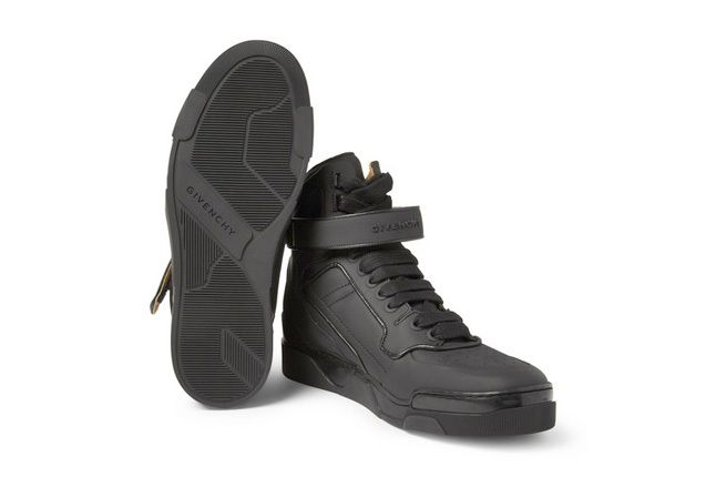 Givenchy Leather0High Top Sneakers 2