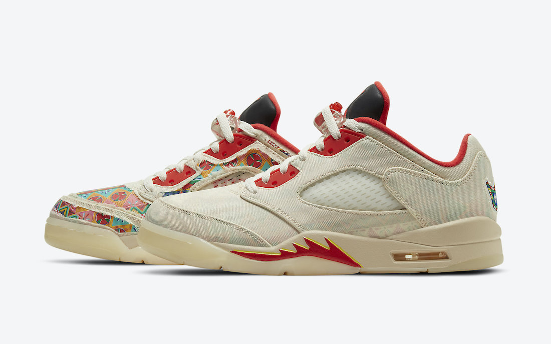 AIR JORDAN 5 LOW CHINESE NEW YEAR side image