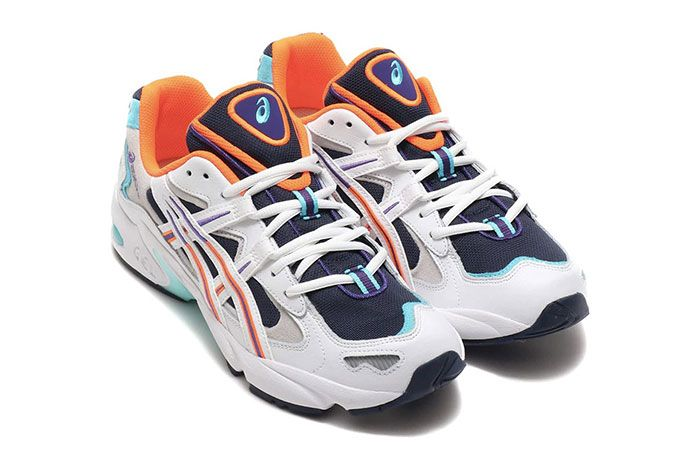 Asics Gel Kayano 5 Midnight Front Angle