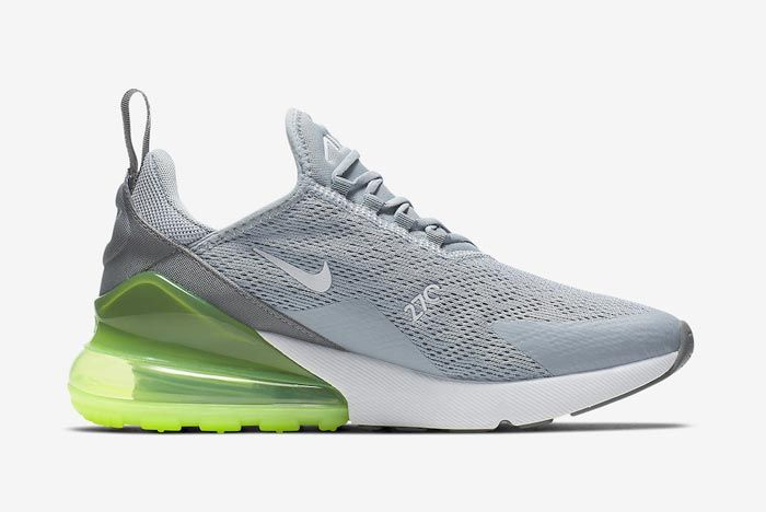 Nike Air Max 270 Womens Lime Blast Medial