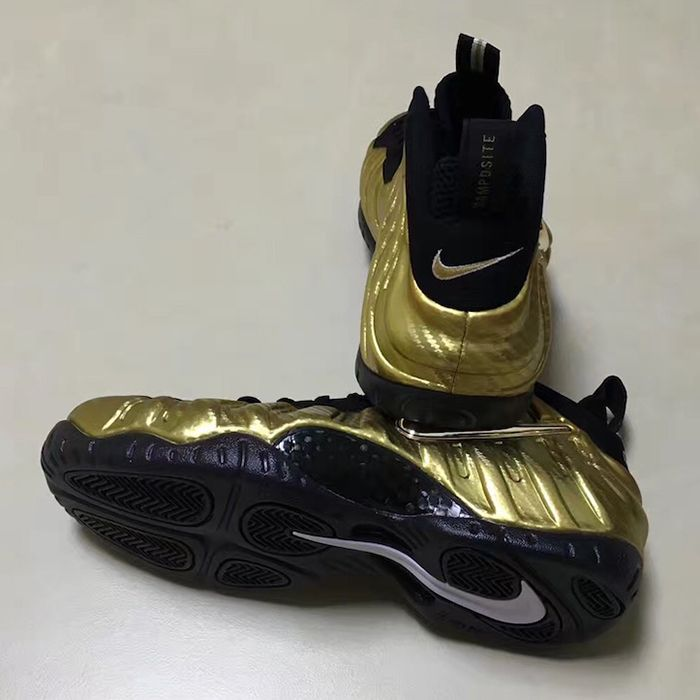 Metallic Gold Foamposite Pros Are Dropping Late 20173