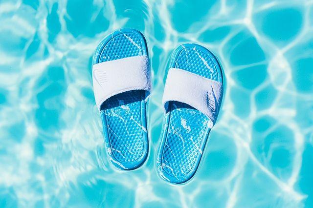 Nike Benassi Jdi Slide Clearwater 1