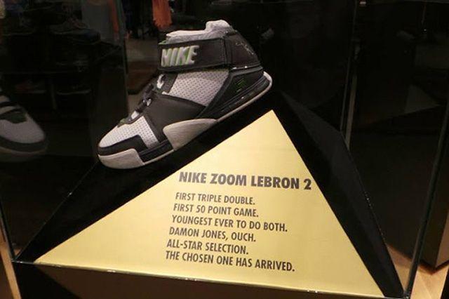 Nike Lbl Wintness History Pe Display Manila