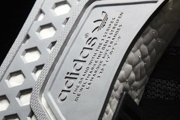 Adidas Nmd R1 Black White 3