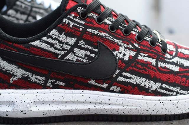Nike Lunar Force 1 Holiday Pack Jacquard Bump 1