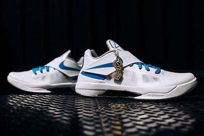Nike Kd 4 White Blue Art Of A Champion 8