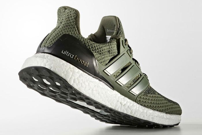 Adidas Ultraboost Green 1