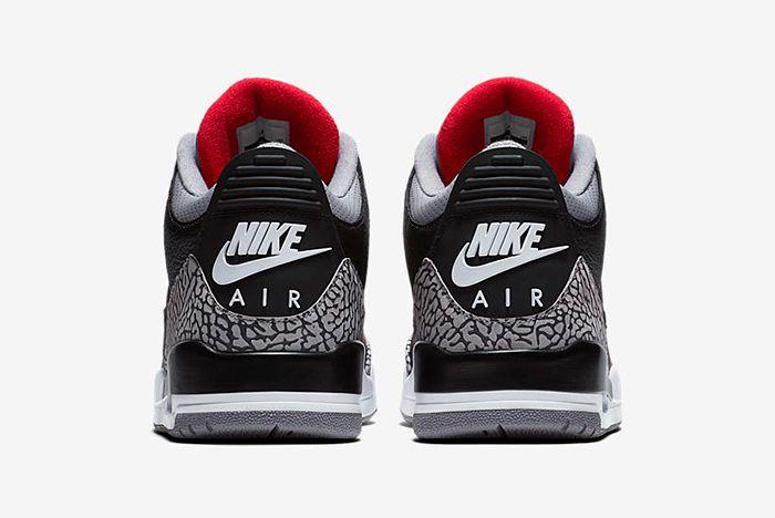 Air Jordan 3 Black Cement 6