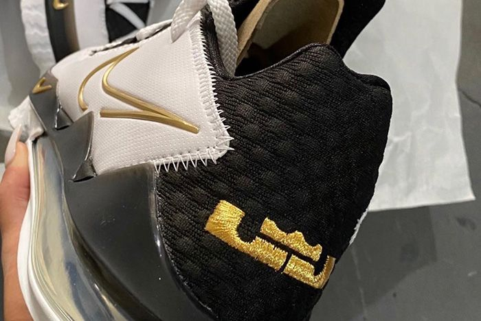 Nike Le Bron 17 Low Metallic Gold Cd5007 101 Release Date Leak 2