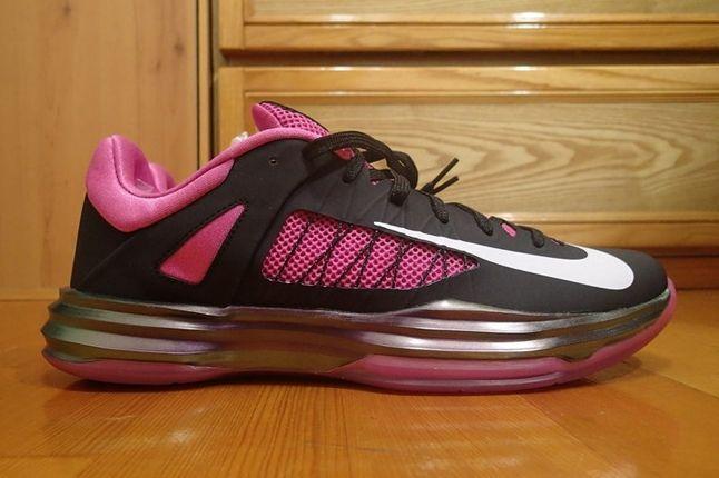 Nike Pink Hyperdunk Low Kay Yow Profile 1