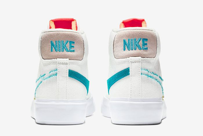 Nike Sb Blazer Mid Edge Heel