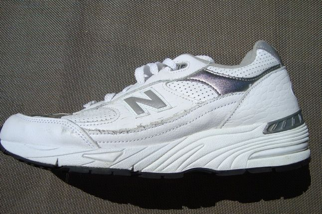 New Balance White Rollbar 1