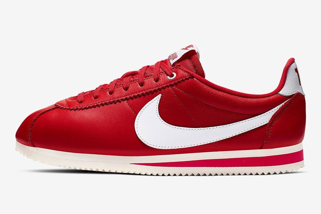Stranger Things Nike Cortez Red Og Collection Ck1907 600 Lateral Sise Shot