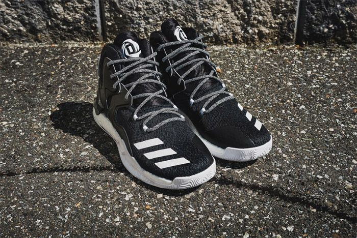 Adidas D Rose 7 Core Black White 6