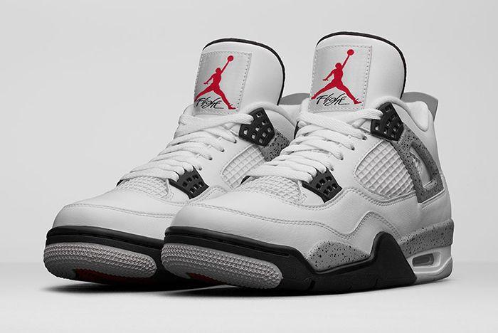 Air Jordan 4 White Cement2