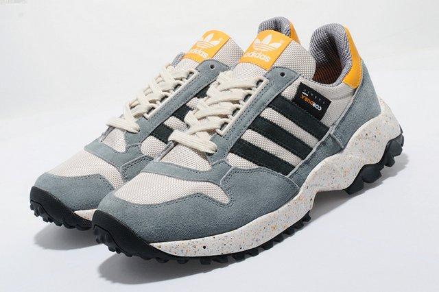 Adidas Originals Zx 500 Trail Slate Grey Mango 2