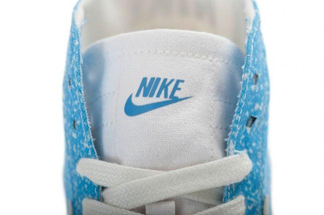 Nike Blazer Mid Decon Canvas Light Blue Tongue 1