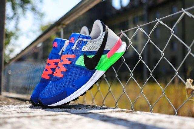Nike Air Pegasus 8330 Royal Blue Poison Green