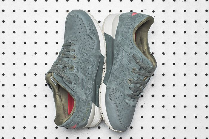 Asics Gel Lyte Iii Perforated Pack Agave Green 2