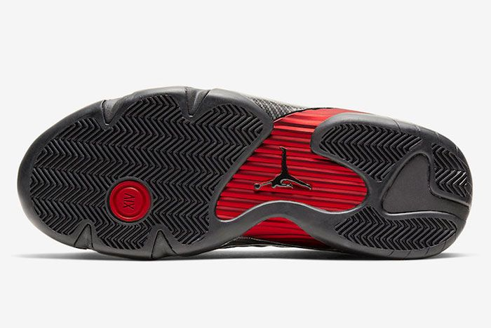 Air Jordan 14 Xiv Se Black Ferrari Bq3685 001 Sole