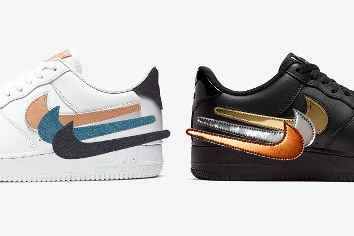 Nike Air Force 1 Removable Swoosh Pack Heel