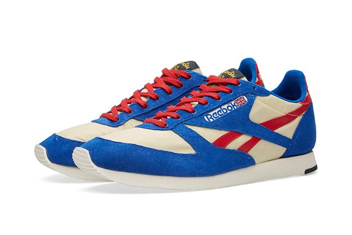 Reebok London Tc Vintage Red White Blue 1