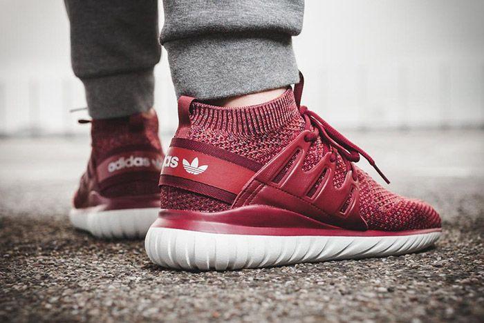 Adidas Tubular Nova Primeknit Mystery Red 1