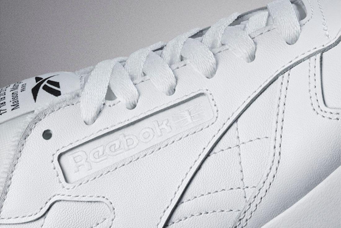 Maison Margiela x Reebok Classic Leather Tabi official pic