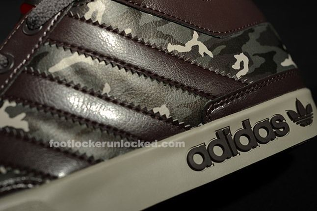 Adidas Top Court Camo Brown Texture 1