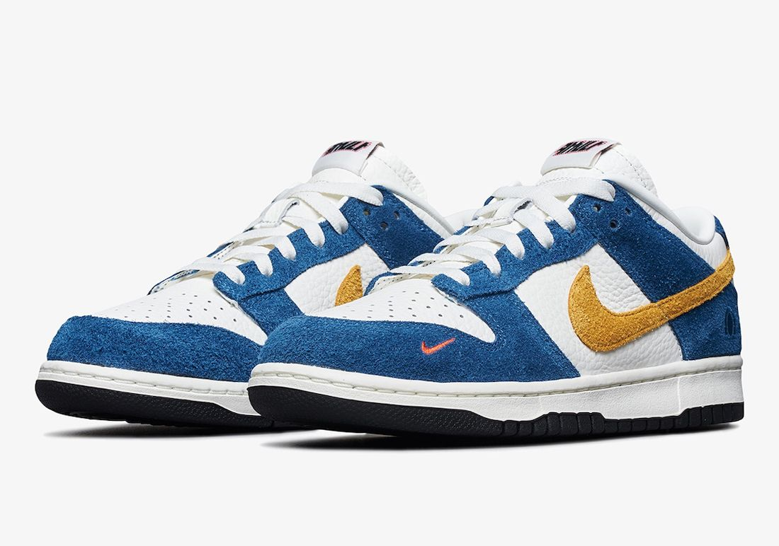 "Kasina x Nike Dunk Low ""Industrial Blue"""