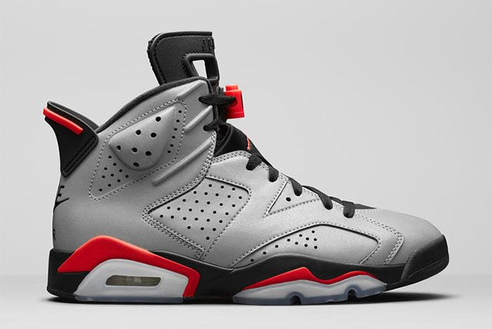 Air Jordan 6 Reflective 2019 Ci4072 001 Side