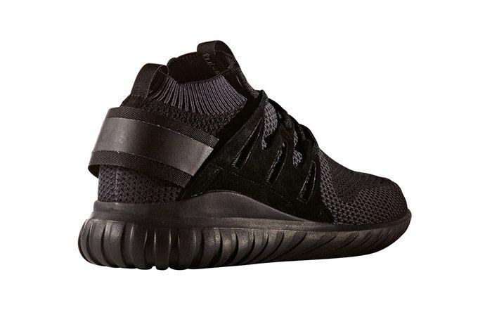 Adidas Tubular Nova Primeknit Triple Black 2