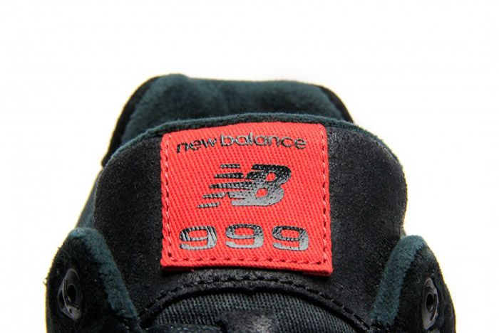 New Balance 999 Waxed Canvas Red Black 3