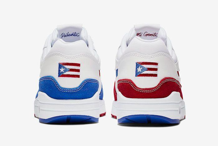 Nike Air Max 1 Puerto Rico Back