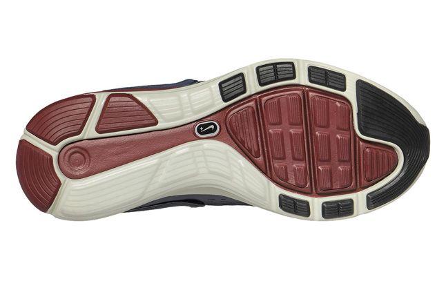 Nike Lunarglide 4 Nsw Mens Running Shoe Obsidian Sole 1