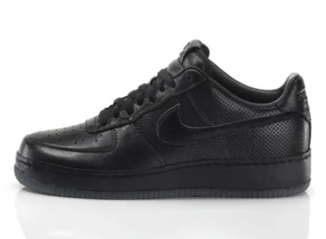 Nike Air Force 1 'All Black Everything Puerto Rico'
