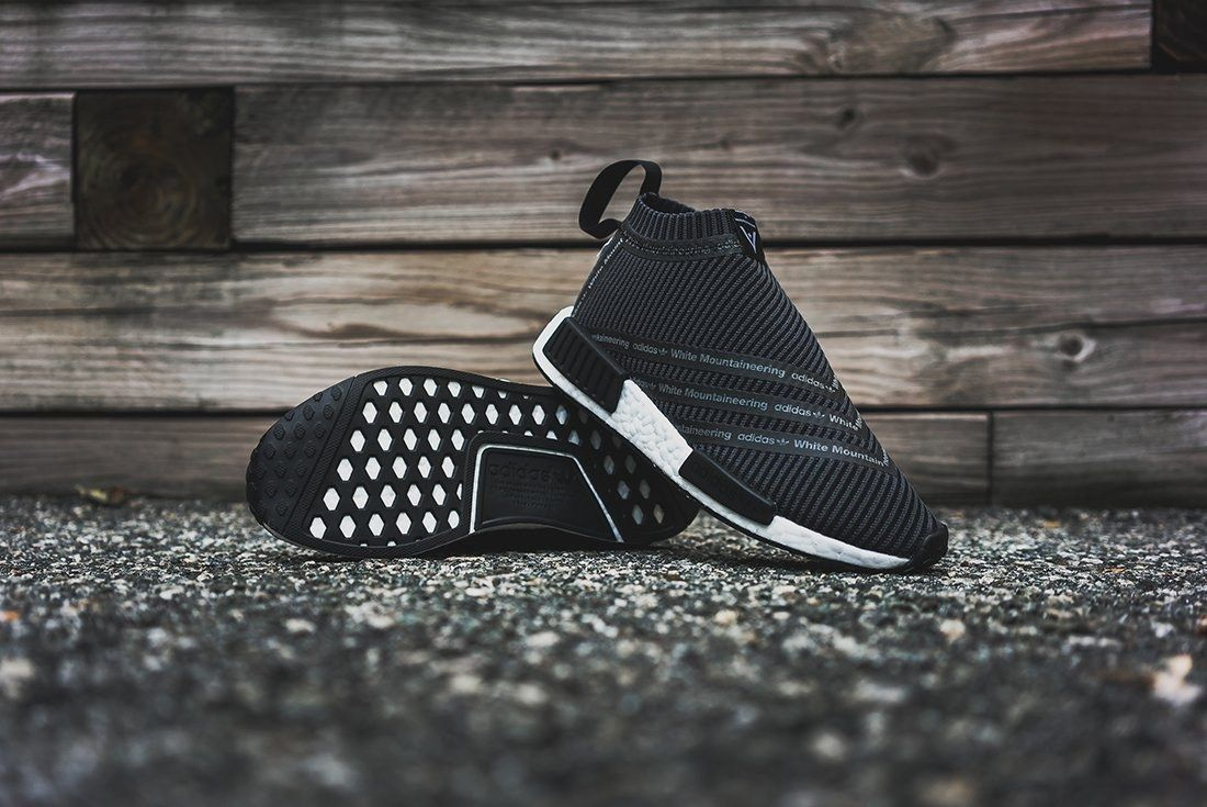 White Mountaineering X Adidas Originals Nmd City Sock 9