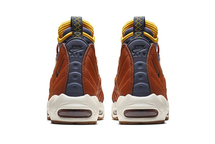 Nike Air Max 95 Sneakerboot Dark Russet 3