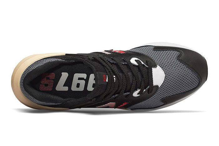New Balance 997S Black With Red Top