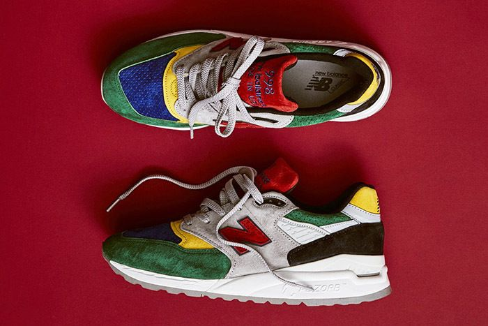 Todd Snyder New Balance 998 Color Spectrum 1