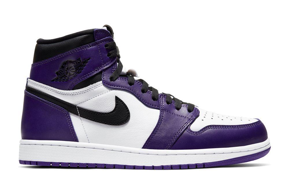 Air Jordan 1 Court Purple right shot