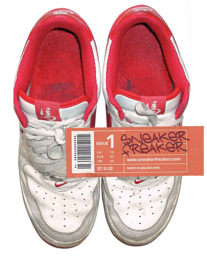 Sneaker Freaker Issue 1 Cover