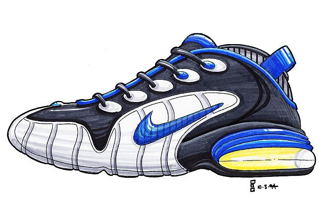 The Making Of The Nike Air Penny 9 1