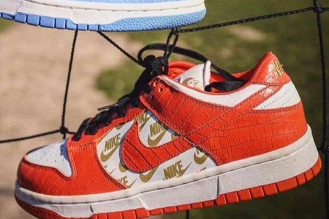 supreme x nike sb dunk low sample 2003