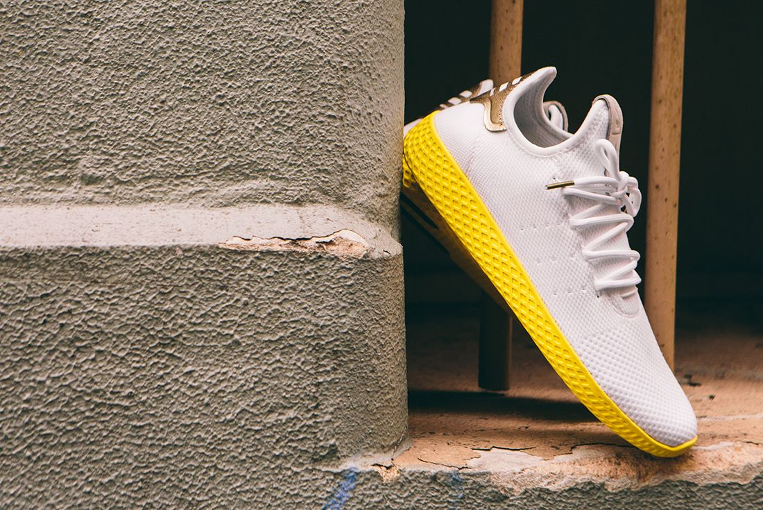 Pharrell Williams X Adidas Tennis Hu Gold10