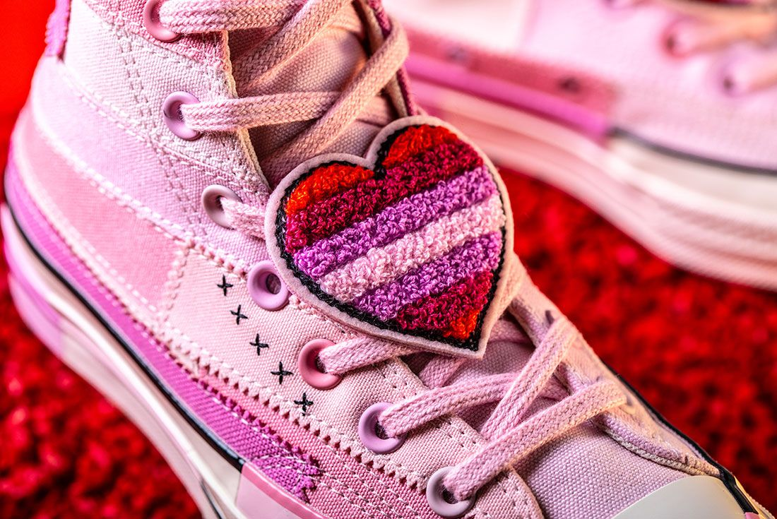 Converse X Millie Bobby Brown Collection Sneaker Freaker Pink Chuck 705