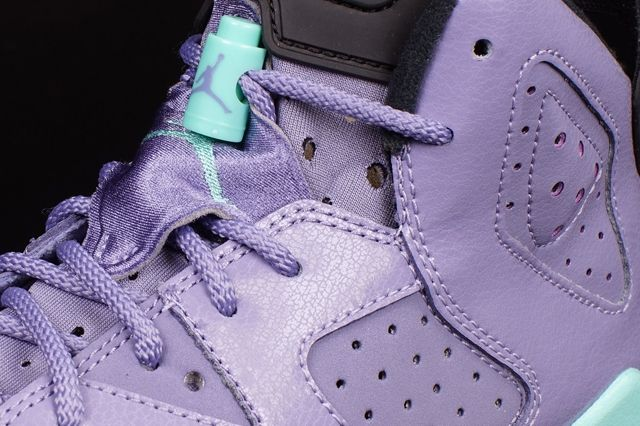 Air Jordan 6 Gs Iron Purple 1