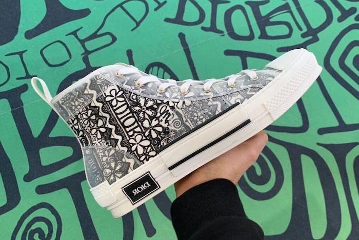 Dior Stussy B23 Sneaker 4