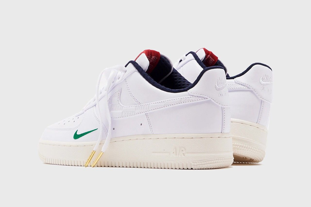 KITH Nike Air Force 1 Friends and Family Heel